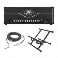 Peavey ValveKing II Electric Guitar 100W Tube Amplifier Head 3 EQ Amp & Stand
