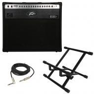 "Peavey 6505 Plus 112 Electric Guitar 60W Combo Amp 12"" Speaker Amplifier & Stand"