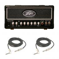 Peavey ValveKing II Micro 20W Tube Amplifier Head Guitar Amp 3 EQ & Cables