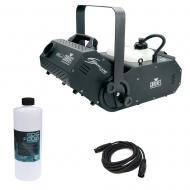 Chauvet DJ H1800FLEX Hurricane 1800 Flex Fog Smoke Machine w/ Fluid & DMX Cable - Refurbished