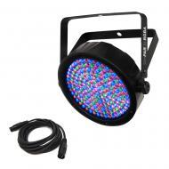 Chauvet SlimPAR 64 RGBA DJ Lighting Par Can LED Wash Light RGBA & DMX Cable - Refurbished