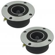 "Audio Legion ALT28 Car Audio 1"" Compression 200W Bullet Super Tweeter Pair New"