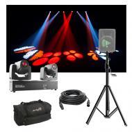 Chauvet DJ Lighting Intimidator Spot Duo 155 Moving Head Light w/ Stand & Bag