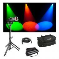 Chauvet DJ Lighting LED Followspot 120ST Stage Spot Light w/ Travel Bags & Cable
