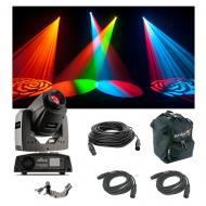 Chauvet Lighting Intimidator Spot 255 IRC Moving Head Light Remote Clamp Cables
