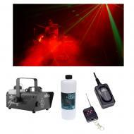 Chauvet DJ Lighting Hurricane 1200 Compact Fog Machine w/ Remote & Fluid New