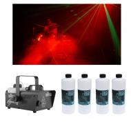 Chauvet DJ Lighting Hurricane 1200 Compact Fog Machine w/ (4) Quart Fluid New