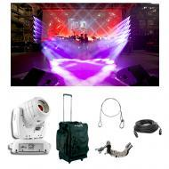 Chauvet DJ Lighting Intimidator Spot 355 IRC White Moving Light Bag Clamp Cables