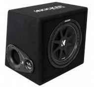 "Kicker VC124 Car Audio Loaded Single 12"" Comp 300W Sub Box Enclosure 43VC124"