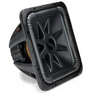 Kicker L7S15 Car Audio Solo-Baric 15 Subwoofer Square L7 Dual 2 Ohm Sub 44L7S152
