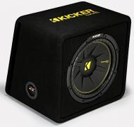 Kicker VCWC12 Car Audio CompC Loaded 12 Vented Sub Box Enclosure 4 Ohm 44VCWC124