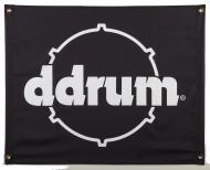 "Ddrum 9""X7"" Black Color Banner with Printed Ddrum Logo (BANNER DDRUM)"