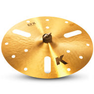 "Zildjian K0888 18"" K Zildjian Series Efx Thin Drumset Cast Bronze Cymbal with Low Pitch and ..."