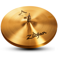 "Zildjian A0135 14"" A Series New Beat Hi Hat Bottom Cast Bronze Cymbal with Solid Chick Sound"