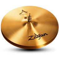 "Zildjian A0137 15"" A Series New Beat Hi Hat Top Cast Bronze Cymbal with Solid Chick Sound"