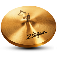 "Zildjian A0151 14"" A Series Quick Beat HiHat Top Cast Bronze Drumset Cymbal with High Pitch"