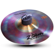 "Zildjian ZXT10TRF 10"" Zxt Trashformer Cymbal in Brilliant Finish"