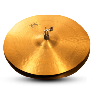 Zildjian KR14PR Kerope Series 14 Inch Top/Bottom HiHat Cymbal with Dark Sound - Pair