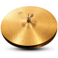 Zildjian KR15PR 15 Inch Kerope Series Hihat Cymbal Traditional Finish with Medium Bell Size - Pair