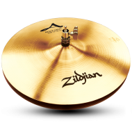"Zildjian A0161 14"" A Series  Rock HiHats Top Drumset Cymbal with Medium to High Pitch"