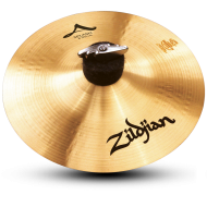 "Zildjian A0210 8"" A Series Splash Drumset Cymbal with Crash Type & Traditional Finish"