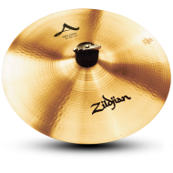 "Zildjian A0212 12"" A Series Splash Drumset Cymbal with Medium to High Pitch & Bright Sound"