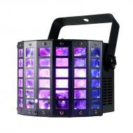 American DJ MINI DEKKER LZR Startec Series Compact 2-FX-IN-1 LED Moonflower/Laser Lighting Fixture