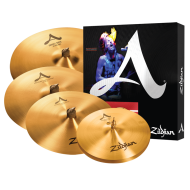 "Zildjian A391 A Series 5 Cymbal Drummer Box Set with 14"" HiHats, 16"" Thin Crash, 21&quo..."