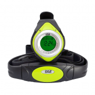 Pyle PHRM38GR Heart Rate Monitor Watch w/ Minimum, Average Heart Rate, Calorie Counter, and Targe...