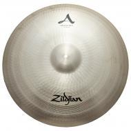 "Zildjian 24"" A Series Medium Ride Cast Bronze Cymbal with Large Bell Size & Mid-Range Pi..."