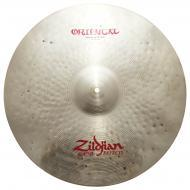"""Zildjian 20"""" Oriental Crash Of Doom Cast Bronze Cymbal with Large Bell Size A0621 - Used"""