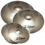 "Zildjian A20579-11 A Custom 4 Pack Matched Set Value Added 18"" Crash Cast Bronze Drumset Cym..."