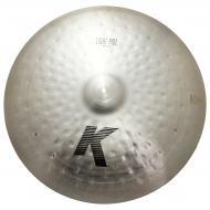 "Zildjian 24"" K Series Light Ride Drumset Cymbal with Medium Bell Size & Dark Sound K0834"