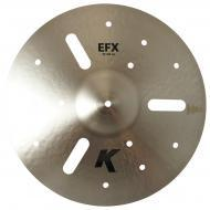 "Zildjian 18"" K Zildjian Efx Thin Drumset Cast Bronze Cymbal with Low Pitch and Dark Sound K0888"