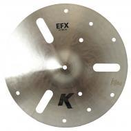 "Zildjian 16"" K Zildjian Efx Thin Drumset Cast Bronze Cymbal with Low to Mid Pitch and Medium..."