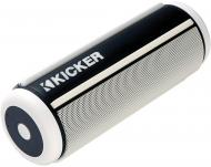 Kicker 41KPWW Portable Battery Powered Bluetooth Water Proof Stereo System White