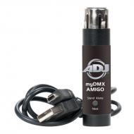 American DJ MYDMX AMIGO DMX Hardware Dongle for Windows Based myDMX 1 Software