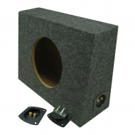 "Universal Truck Single 10"" Subwoofer Enclosure Box"