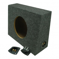"Sub Boxes Truck Single 10"" Subwoofer Unloaded Enclosure Box"