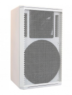 "Galaxy Audio CR-15W 15"" 2-Way White Speaker Cabinet"