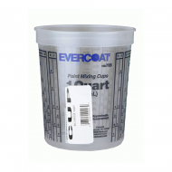 Install Bay CUP High Quality 1 Quart Marked Paint Mixing Cup Sold Per Piece