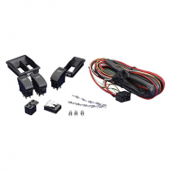 Install Bay IB33040162 3 Push/Pull Switch Kit with Dual and Single Frame
