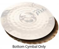 Paiste PST 8 14-Inch Reflector Sound Edge Bottom Hi-Hat Cymbal with Medium Long Sustain (1803314)