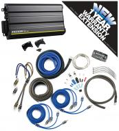 Kicker CX600.5 Car Audio 5 Chnnael 300W Amp Package & CK4 Amplifier Kit - 3 Year Warranty!