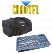Chauvet DJ Stage Designer 50 Lighting 48 Channel DMX-512 Controller with Arriba Transport Bag Pac...