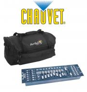 Chauvet DJ Lighting Obey 40 Light 192 Channel DMX 512 Controller with Arriba Transport Carry Bag