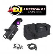 American DJ Lighting Inno Scan LED Gobo Scanner Color Light with DMX Cable, Truss Clamp & Arr...