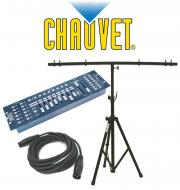 Chauvet DJ Lighting Obey 40 Light 192 Channel DMX 512 Controller with DMX Cable & T-Bar Tripo...
