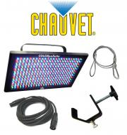Chauvet Lighting LED Pallet Color Pallette Wash Bank Light with DMX Cable, Clamp & Safety Cab...