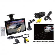 Pyle Car Audio PLCM7700 7' Window Suction Mount TFT / LCD Video Monitor w/ Universal Mount R...